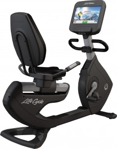 Life Fitness Platinum Recumbent Discover SE Cycle