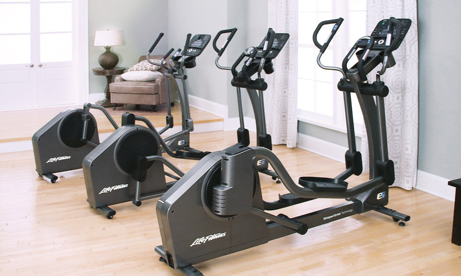 All New E-Series Ellipticals From Life Fitness